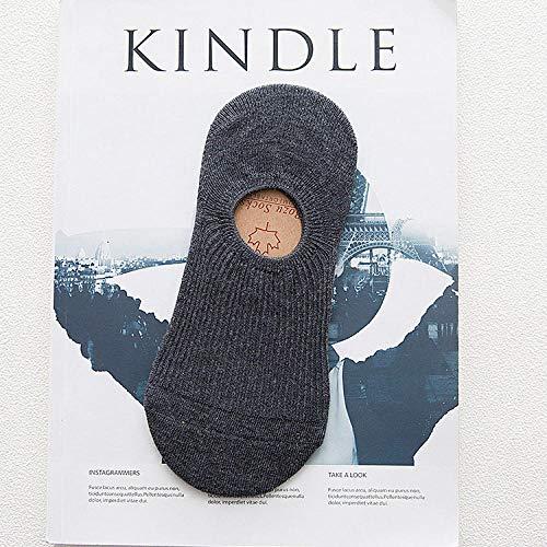 Zyf Fac Cómoda de algodón de bambú Mujeres de la Muchacha Invisible Sudor Corto Verano de Las Mujeres s Calcetines del Barco de Tobillo bajo Invisible Femenino