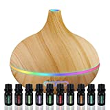 Ultimate Aromatherapy Diffuser & Essential Oil Set - Ultrasonic...