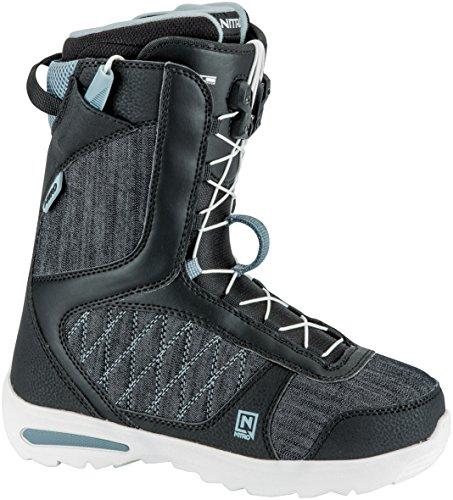 Nitro Snowboards Damen Flora TLS'18 Snowboard Boot, Black, 26