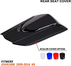 AnXin Motorcycle Black Rear Seat Cowl Passenger Pillion Fairing Tail Cover For Suzuki GSXR1000 2009-2016 K9