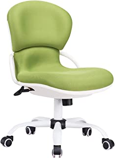 GIRISR Sillas de Escritorio de Oficina con diseño ergonómico, Silla de Trabajo giratoria Ajustable con Respaldo, Duradero y Verde