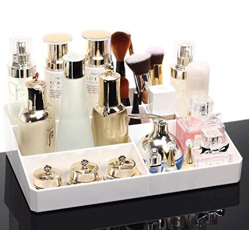 Organiseur de maquillage Thbeibei Bureau Cosmétique Boîte de rangement Transparent Boîte de Rangement Sac de maquillage