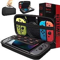 Orzly Draagtas, compatibel met Nintendo Switch, opbergtas, harde schaal, hoes, hoes, beschermhoes voor gebruik met de...