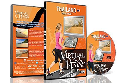 Virtuelle Spaziergänge - Thailand Strände für Indoor Walking, Laufband und Radfahrtraining