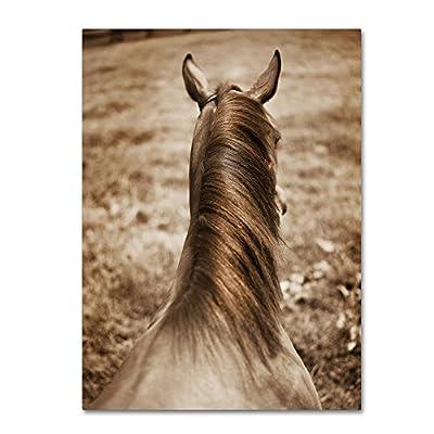 Trademark Fine Art Kentucky Horseman by Preston Hanging Art Piece
