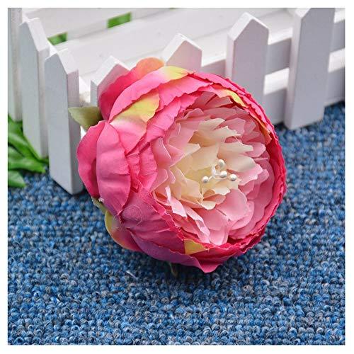 CGS2 Bouquet maison hôtel accessoires d'artisanat décoration de mariage guirlande clip accessoires traitement artisanat faits à la main d'artisanat florale faite sur commande, 5 Pcs Décoration de la m