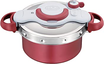 T-fal Pressure Cooker ClipsoMinut Duo 4.2L (RED)【Japan Domestic Genuine Products】