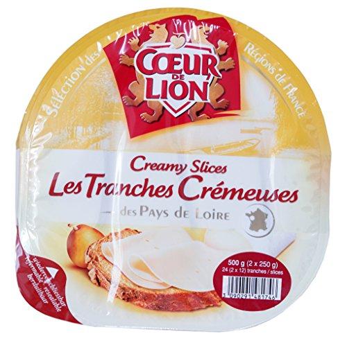 クール・ド・リオン クリーミースライスチーズ 250g×2P フランス産