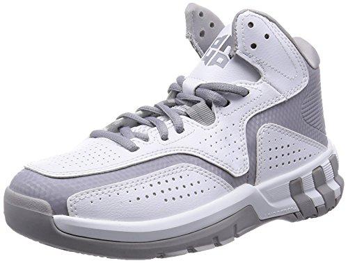 adidas D Howard 6 - Zapatillas para Hombre, Color Blanco/Gris/Negro, Talla 44 2/3