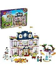 LEGO 41684 Friends Grand Hotel Resort Dolls House Byggsats, Heartlake City leksak med sommar- och vinterscener