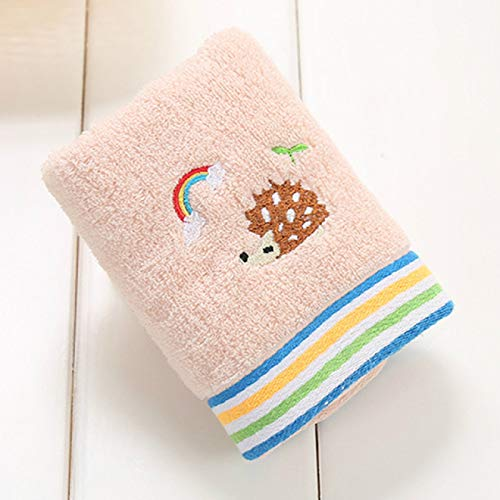 HUANGDANSEN Bathroom Towels Baby Facial Care Handkerchief Tulle Newborn with Gauze Towel 3Pcs