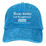 Ricky Bobby Cal Naughton Jr 2020 Election Unisex Soft Casquette Cap Vintage Adjustable Baseball Caps Black