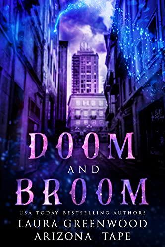 Doom and Broom Arizona Tape Laura Greenwood Amethyst's Wand Shop Mysteries