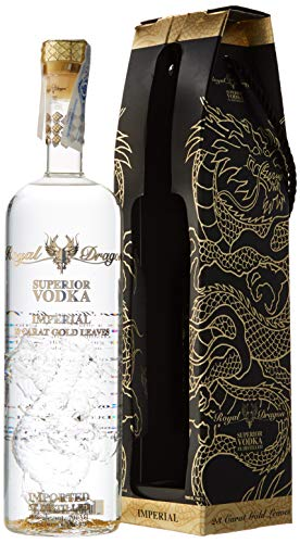 Royal Dragon - Ultra Premium Russian Vodka - Imperial - 70cl
