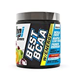 BPI Sports Best BCAA with Energy - Healthy BCAA Powder - Improved Performance - Lean Muscle Building - Accelerated Recovery - Proprietary Energy Blend - Fruit Punch - 25 Servings - 8.8 oz.