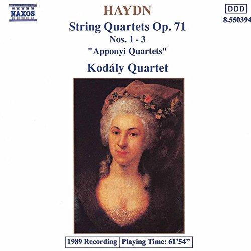 Haydn: String Quartets Op. 71, Apponyi Quartets
