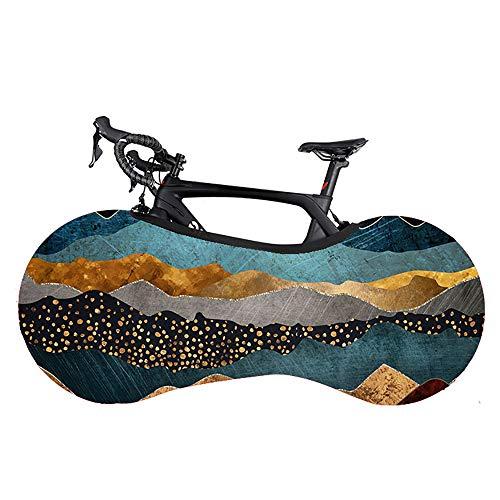 Voghtic - Copriruota per bicicletta, lavabile, anti-polvere, per interni e interni, in tessuto Oxford elasticizzato a prova di sporco, per riporre oggetti interni ed esterni