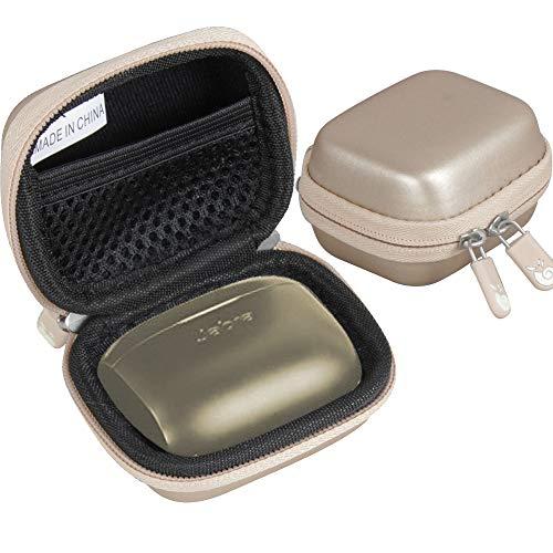 Hermitshell - Funda rígida de viaje para auriculares Jabra Elite Active 65t y Jabra Elite 65t con Bluetooth inalámbrico