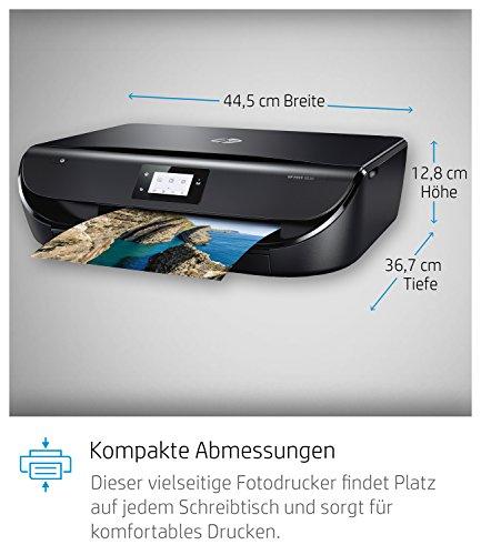 HP ENVY 5030 Multifunktionsdrucker (Instant Ink, Fotodrucker, Scannen, Kopieren, WLAN, Airprint) inklusive 3 Monate Instant Ink