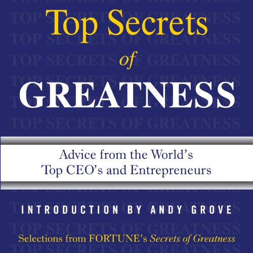 Secrets of Greatness audiobook cover art