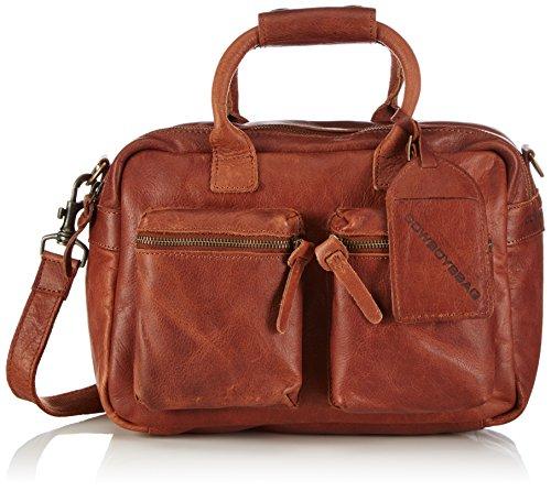 Cowboysbag Unisex-Erwachsene The Little Bag Henkeltaschen, Braun (Cognac 300), 32x20x14 cm