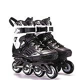 HHORD Bladerunner by Rollerblade, Women's/Men's Adult Fitness Inline Skate, black and white, Inline Skaes,Black,44