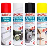 Baufix - Spray de silicona (250 ml)