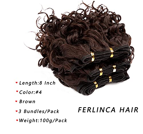 8 inch curly weave _image3