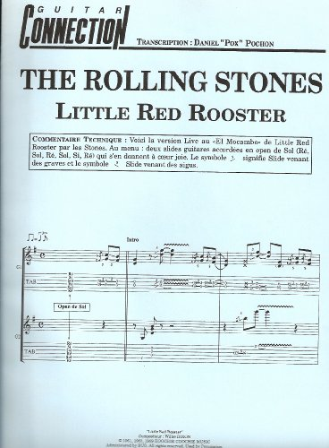GUITAR CONNECTION : THE ROLLING STONES : Little Red Rooster Sol/Tab