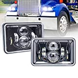 Rectangular 4X6 LED Headlights with High Low...