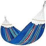 YSNUK Hamacas Hamaca al Aire Libre para Evitar los puntales de vuelco, Colorfast Lavable, 200 * 150 Cm Camping Hamaca, Fuerte, Bolsa de Viaje (Color : #1)