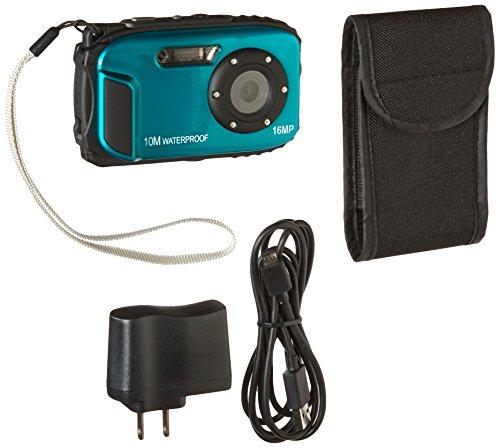 PowerLead Gapo G051 2.7 Inch LCD Cameras16 MP Digital Camera Underwater 10m Waterproof Camera+ 8x Zoom(blue)