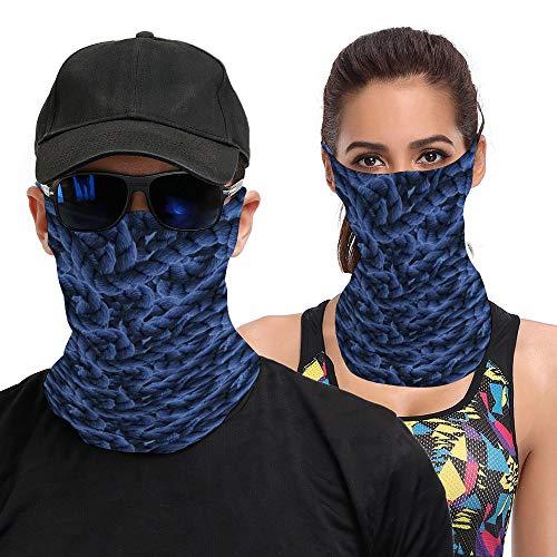 Diuangfoong Bandana cambiado toalla de cara con el oído colgante cuerda textura fondo para hombres mujeres pasamontañas cara bufanda