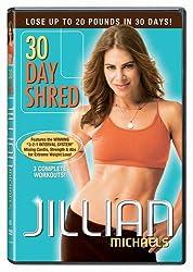 30 day shred jillian michaels