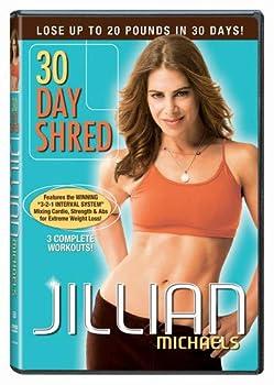 DVD Jillian Michaels - 30 Day Shred Book