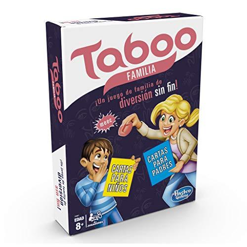 Hasbro Gaming- Tabú Familia (E4941105) , color/modelo surtido