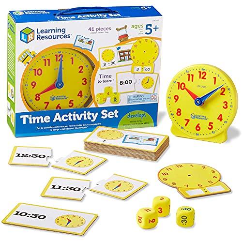 ラーニングリソーシズ 算数教材 学習時計 時計アクティビティセット LER3220-J 正規品