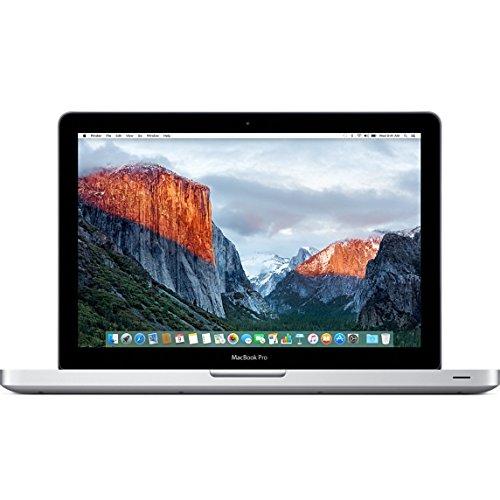 Apple 13 Inch MacBook Pro / MD101LL/A / 2.5GHz Intel Core i5, 4GB RAM, 500GB HDD, Intel HD 4000 Graphics, DVDRW, WIFI Wireless, iSight Webcam