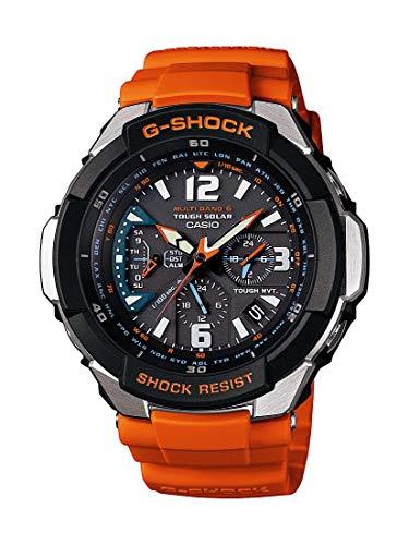Casio G-Shock GW3000M-4A Armbanduhr, Herren, Aviatik-Optik, solare Aufladung möglich, Multiband 6