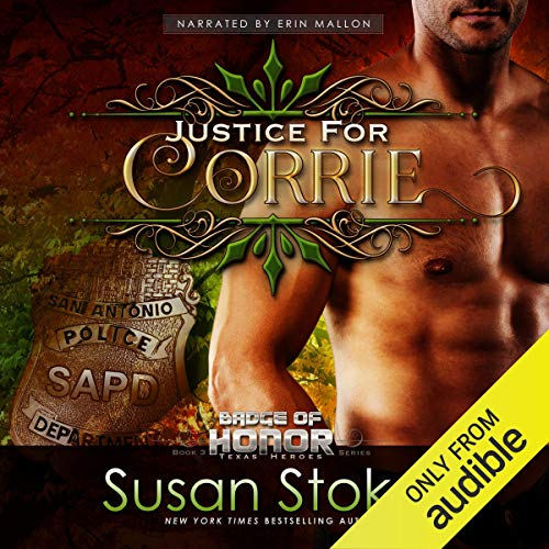 Justice for Corrie audiobook cover art