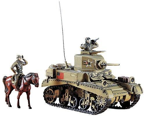 ハセガワ 1/72 アメリカ陸軍 スチュアート Mk.1 プラモデル MT3