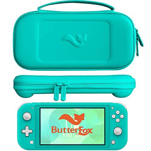 ButterFox - Funda de Transporte para Nintendo Switch Lite, 9 Game y 2 Tarjetas Micro SD, Color Turquesa