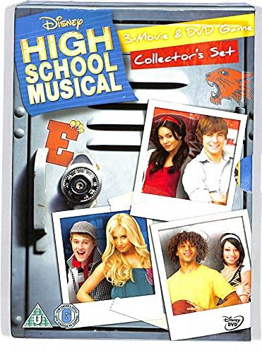 EBOND High School Musical 1-3 And Game Box Set DVD Uk Edition