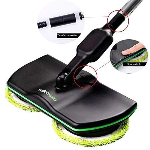 Almohadillas de repuesto para mopas inalámbrica Wireless 8de microfibra y 8polisher electrónicas Depurador para interiores
