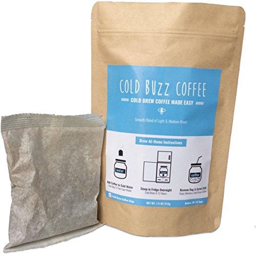 Cold Buzz Coffee (Medium) - Cold Brew Iced Coffee Packs