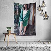 Chongneuru Photo Collection Tapestry Interior Modern Art Stylish Wall Hanging Large Decorative Fabric Wall Art Fabric Poster Fabric Decoration Supplies Multi-functiol Indoor Window Wall Decor Store Popular Housewarming Unique Gift 59.8 x 51.2 inches (152 x 130 cm)