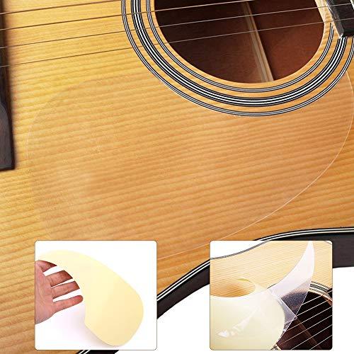 RONSHIN Popular Sell for Transparante Akoestische Gitaar Slagplaat Druppels Zelfklevende Beschermer voor 40/41 inch Gitaar (opp)