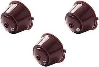 coffee2u rechargeable réutilisable Dosettes Capsules Café pour Dolce Gusto coffiee Machines–3dosettes de café