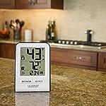 La Crosse Technology 308-1409WT-CBP Wireless Temperature Station, White 10 Monitors indoor & wireless outdoor temperatures (F/C adjustable) Hi/low records of temperature values Indoor Humidity (%RH)