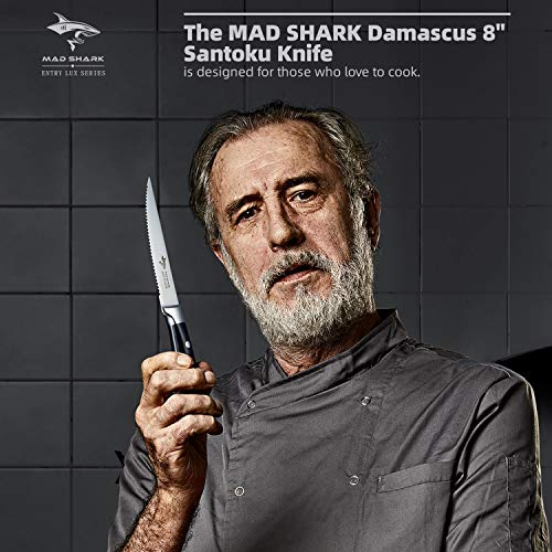 Steak Knife Set By MAD SHARK